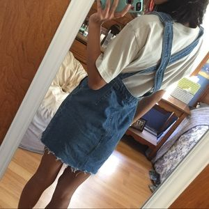 Urban Outfitters Dresses - BDG Denim Overall Dress